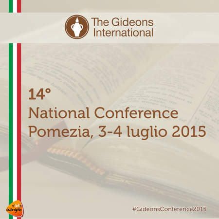 14 National Conference Gideons International Italia